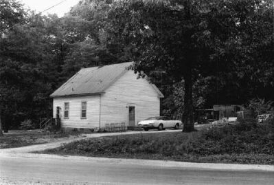 The Thrift School, in 1974 image. Click for full size.