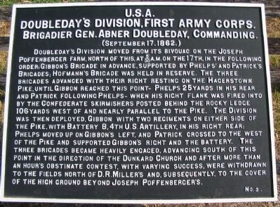Doubleday's Division Tablet image. Click for full size.