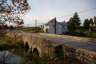 South face of Hess's Mill Bridge image. Click for full size.
