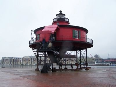 Seven-Foot Knoll Lighthouse image. Click for full size.