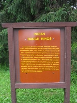 Indian Dance Rings Marker image. Click for full size.