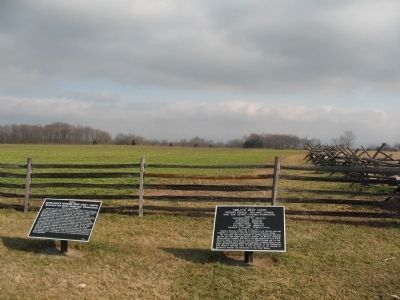 Two Tablets at the Southwest Corner of the Cornfield image. Click for full size.