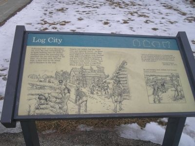 Log City Marker image. Click for full size.