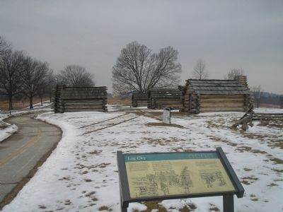 Log City in Valley Forge image. Click for full size.