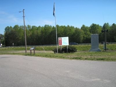 Sutherland Station Markers image. Click for full size.