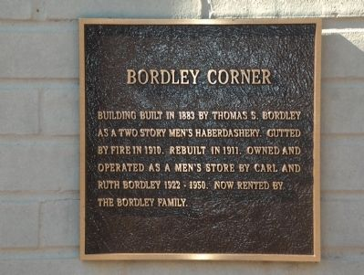 Bordley Corner Marker image. Click for full size.