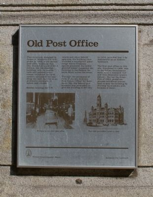 Old Post Office Marker image. Click for full size.