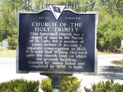 Church of the Holy Trinity Marker image. Click for full size.