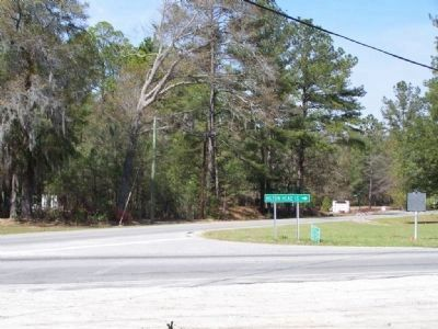 Intersection with SC 29, a road to Hilton Head in forground image. Click for full size.