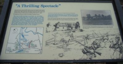 """A Thrilling Spectacle"" Marker image. Click for full size."