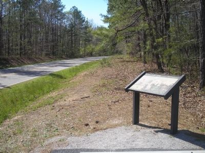 The Union Cavalry Attacks Marker on Courthouse Road image. Click for full size.