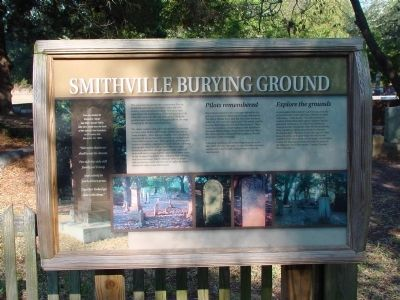 Smithville Burying Ground Marker image. Click for full size.