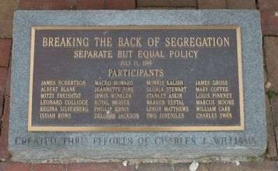 Breaking the Back of Segregation Marker image. Click for full size.