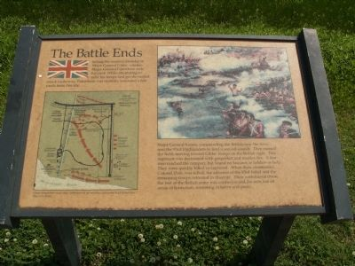 The Battle Ends Marker image. Click for full size.
