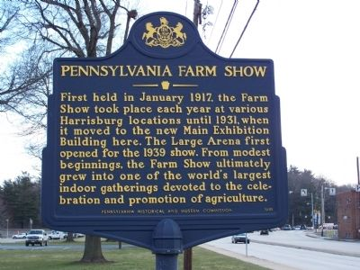 Pennsylvania Farm Show Marker image. Click for full size.