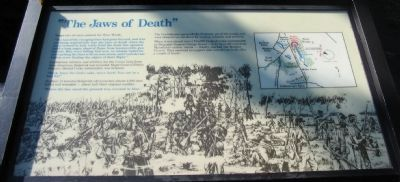 """The Jaws of Death"" Marker image. Click for full size."