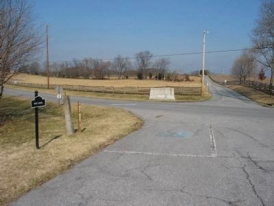 Monument at the Intersection of Dunker Church and Somketown Roads image. Click for full size.