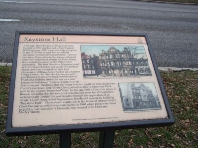 Keystone Hall Marker image. Click for full size.