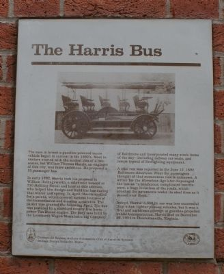 The Harris Bus Marker image. Click for full size.
