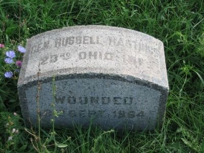 General Russell Hastings Monument image. Click for full size.