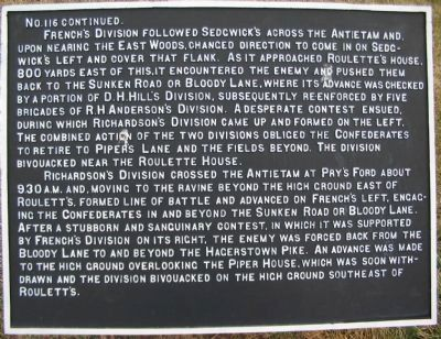 II Army Corps Tablet - Continuation Tablet image. Click for full size.