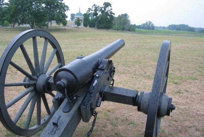 Parrott Rifle at the Artillery Display image. Click for full size.