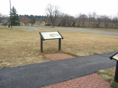 Marker next to the Artillery Display image. Click for full size.