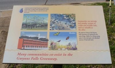 Additional sign describing local ecosystems image. Click for full size.