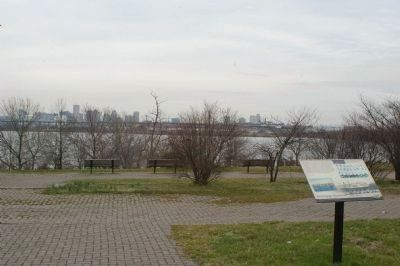Reviving the Waterfront marker with the Patapsco River in the background image. Click for full size.