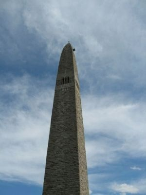 Battle of Bennington Monument image. Click for full size.