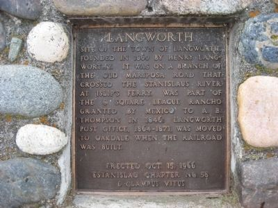Langworth Marker image. Click for full size.