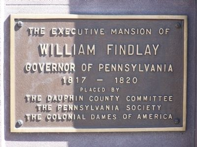 Plaque on 21 N. Front Street image. Click for full size.