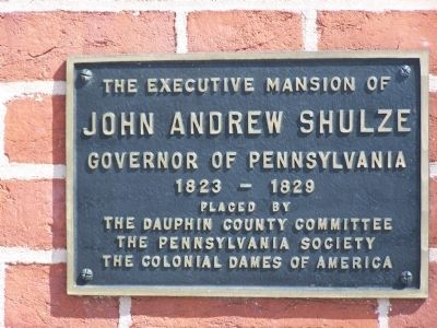 Plaque on 27 N. Front Street image. Click for full size.