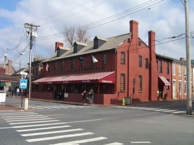 Middleton Tavern and Marker image. Click for full size.