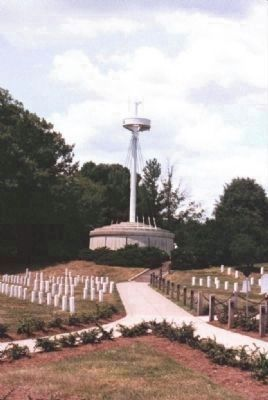 USS Maine Memorial, Arlington National Cemetery image. Click for full size.