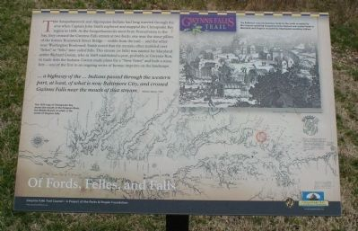 Of Fords, Felles, and Falls Marker image. Click for full size.