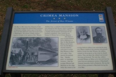 Crimea Mansion Marker image. Click for full size.