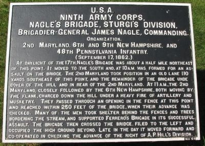 Nagle's Brigade Tablet image. Click for full size.