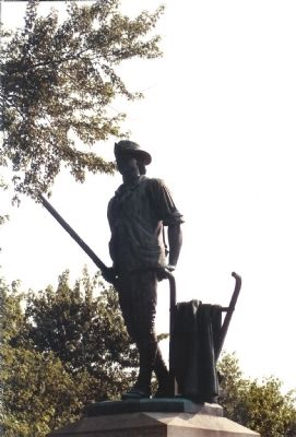The Concord Minuteman Statue image. Click for full size.
