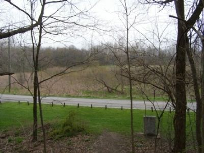 View from Prophet's Rock towards the Tippecanoe Battlefield image. Click for full size.