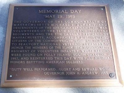 Memorial Day May 29, 1989, First Tablet image. Click for full size.