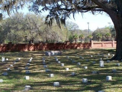 Beaufort National Veterans Cemetery image. Click for full size.