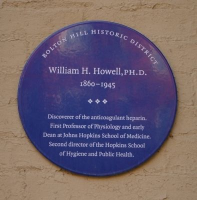 William H. Howell, Ph.D. Marker image. Click for full size.