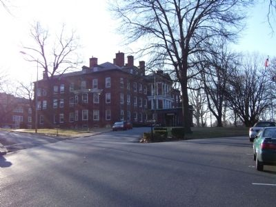Main Building of Pennsylvania State Hospital image. Click for full size.