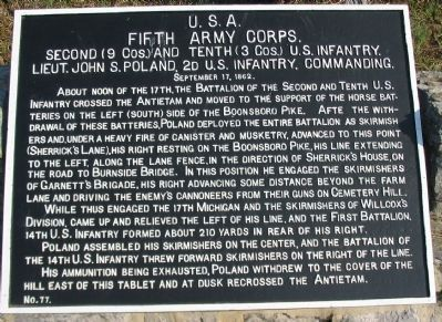 2nd and 10th U.S. Infantry Tablet image. Click for full size.
