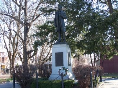 Statue of Governor Curtin image. Click for full size.