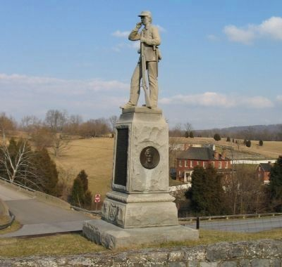 45th Pennsylvania Infantry Regiment Monument image. Click for full size.