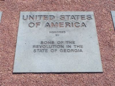 Marker for The American Revolution image. Click for full size.