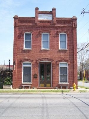 Old Bank of Hampton ; today the Hampton Museum image. Click for full size.