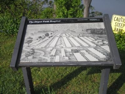 The Depot Field Hospital Marker image. Click for full size.